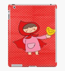 Little Riding Red Hood iPad Case/Skin