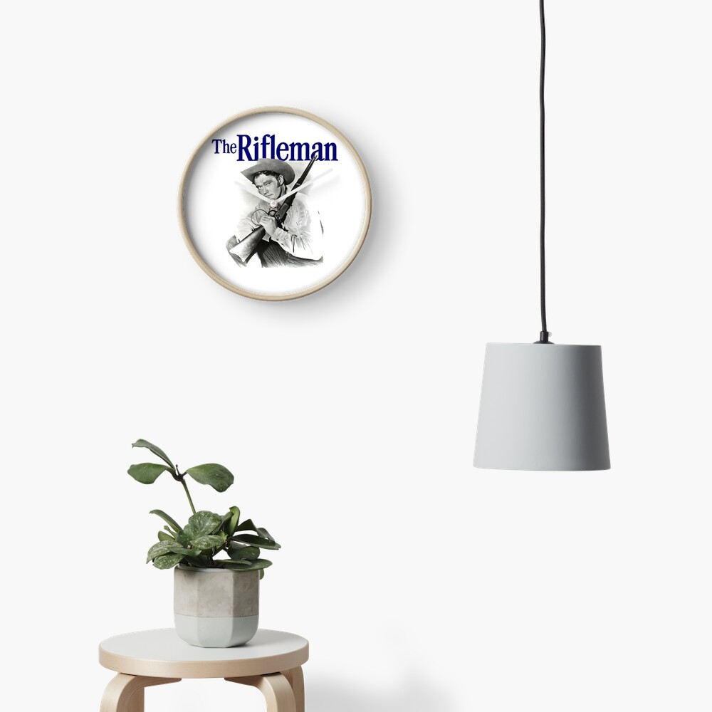 The Rifleman Clock