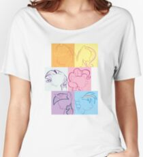 6 Main_squares 1 Women's Relaxed Fit T-Shirt