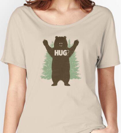 Bear Hug (Light) Women's Relaxed Fit T-Shirt