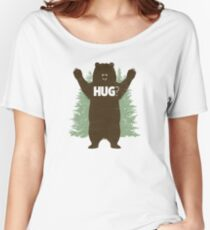 Bear Hug (Light) Women's Relaxed Fit T-Shirt