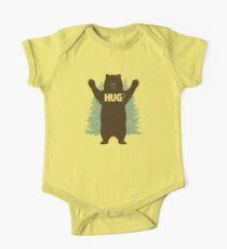 Bear Hug (Light) One Piece - Short Sleeve
