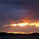 Brilliant Sun Set by HELUA