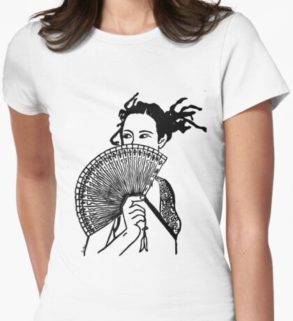 """Geisha Girl"" Clothing T-Shirt"