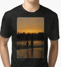 Beach Attractions Tri-blend T-Shirt