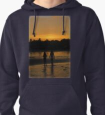 Beach Attractions Pullover Hoodie