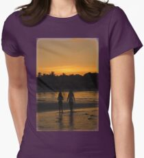 Beach Attractions Women's Fitted T-Shirt