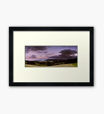 Windermere Moon Framed Print