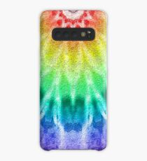 Rainbow Tie Dye 2 Case/Skin for Samsung Galaxy