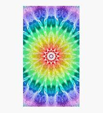Rainbow Tie Dye 2 Photographic Print
