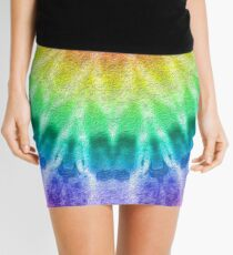 Rainbow Tie Dye 2 Mini Skirt