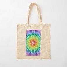 Rainbow Tie Dye 2 Cotton Tote Bag