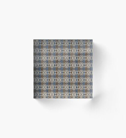 Pattern #8 Acrylic Block