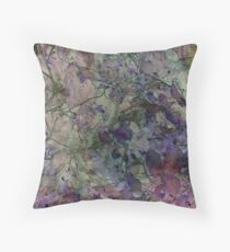 In the Garden Where the Faeries Go Throw Pillow