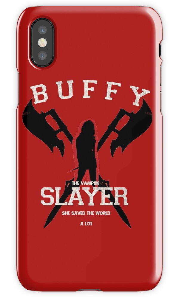 Buffy The Vampire Slayer Iphone  Case