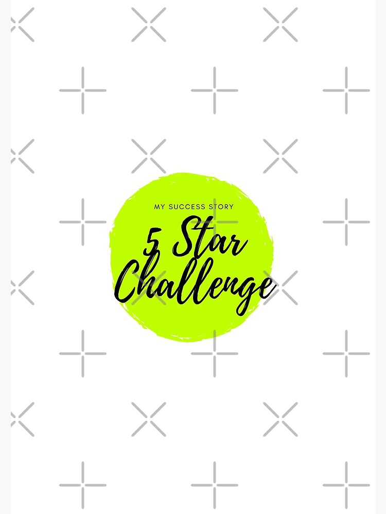 Journals - 5 Star Challenge by drjennedwards
