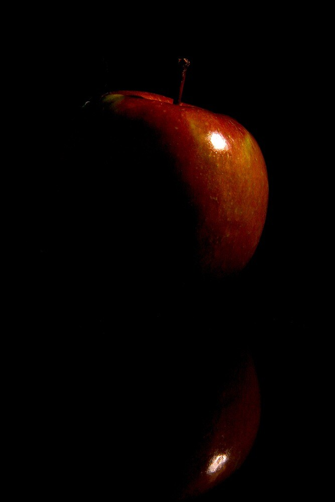 The dark side of the apple. by Thomas Anderson