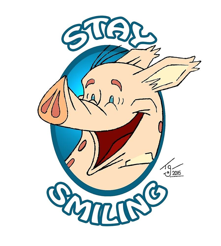 Stay Smiling - Liam by Tom Gant