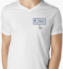 Dislike You Men's V-Neck T-Shirt