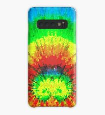 Tie Dye Rainbow Stained Glass Case/Skin for Samsung Galaxy