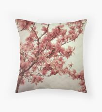 frail branch Throw Pillow