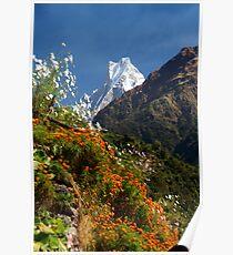 Annapurna Conservation Area. Poster