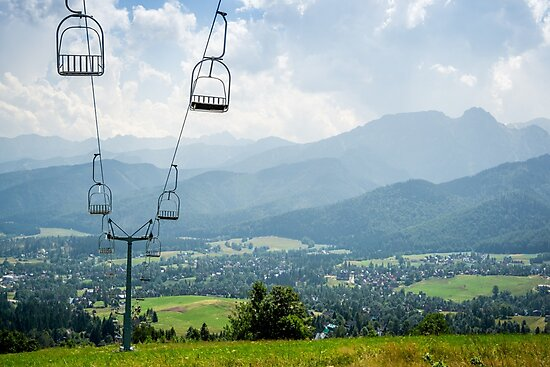 Mountain Cableway by PatiDesigns