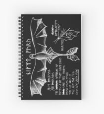 Dragon Flying 101 Spiral Notebook