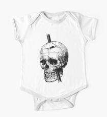 The Skull of Phineas Gage Vintage Illustration Vector Kids Clothes