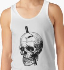 The Skull of Phineas Gage Vintage Illustration  Tank Top