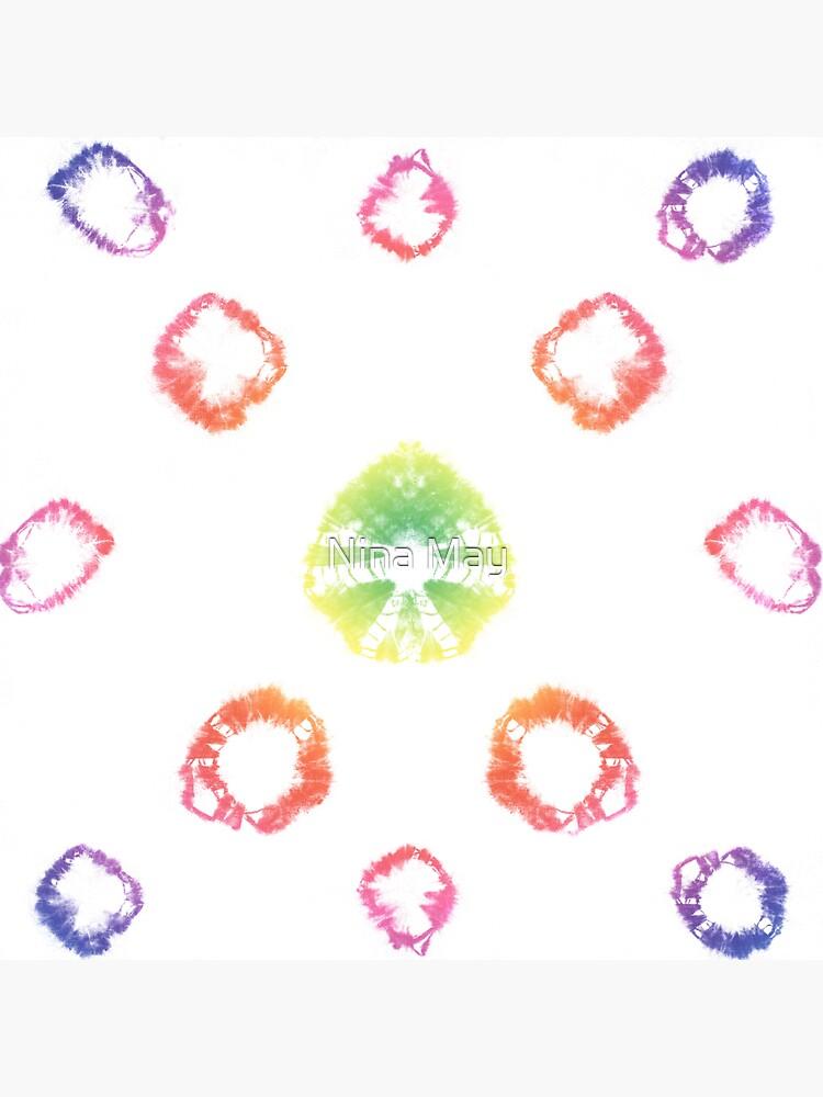 Rainbow Shibori Uni by ninabmay