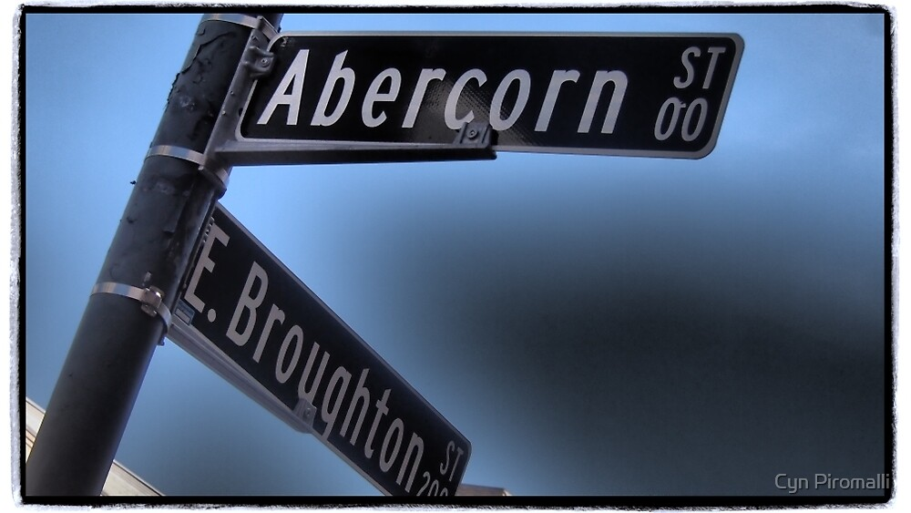 On the Corner of Abercorn by Cyn Piromalli