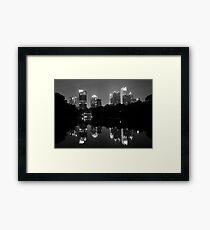 Piedmont Skyscrapers Framed Print