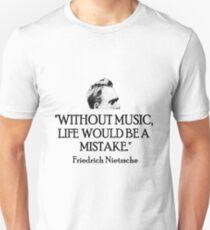 Musik Unisex T-Shirt