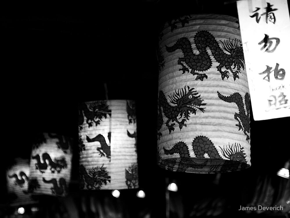 Dragon Lanterns by James Deverich