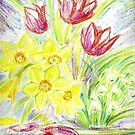 Spring Flowers by Shoshonan