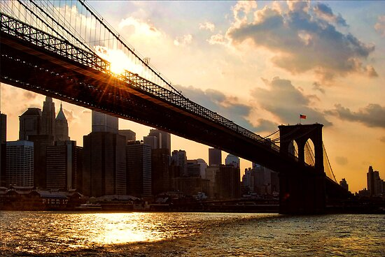 NYC, New York City, USA by Sabine Jacobs