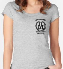 Miskatonic Faculty Women's Fitted Scoop T-Shirt