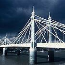 Albert Bridge, London by Dean Bailey