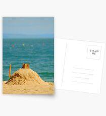 Sand Castle, Tenby, South Wales. uk. Postcards