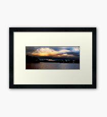 SERA SUL LAGO LOBDELL, MICHIGAN Framed Print