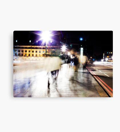 City Ghosts Canvas Print