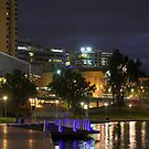 Adelaide by Night by aussiedi