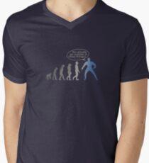 Evolution Mens V-Neck T-Shirt