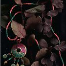 Beads and Leaves in the Eve... by linmarie