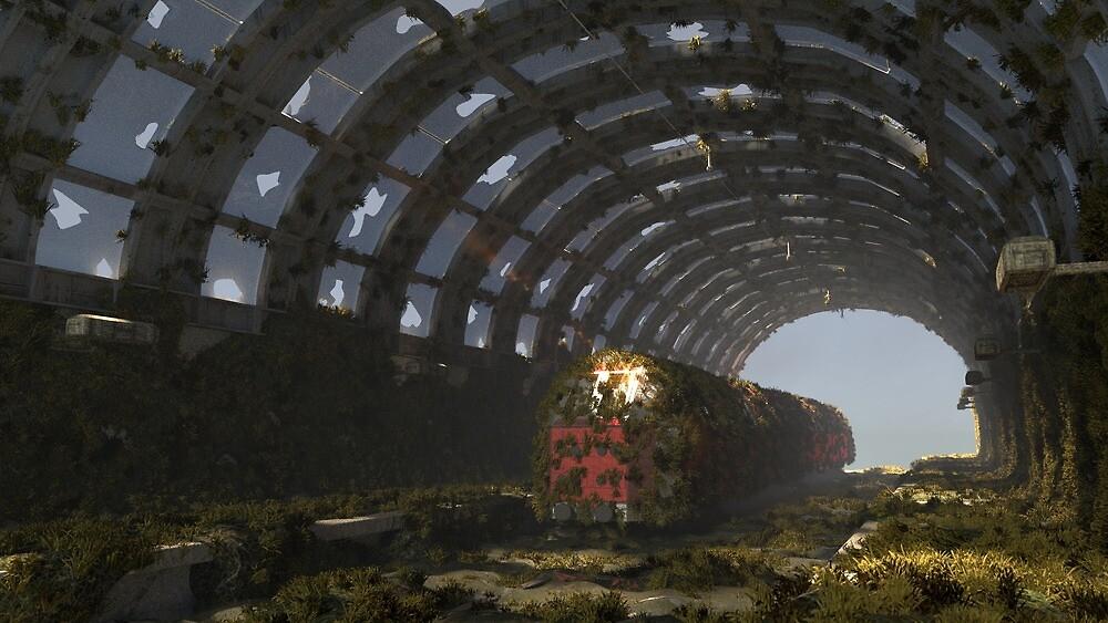 When nature recaptures its planet... by TGDigitalART