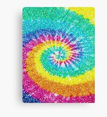 Rainbow Tie Dye 3 Canvas Print
