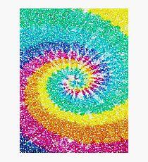 Rainbow Tie Dye 3 Photographic Print