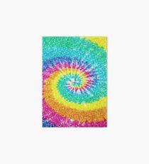Rainbow Tie Dye 3 Art Board Print