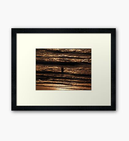 Time to say... Framed Print